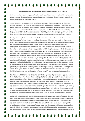 ≡Essays on Environmental Ethics. Free Examples of Research Paper Topics, Titles GradesFixer