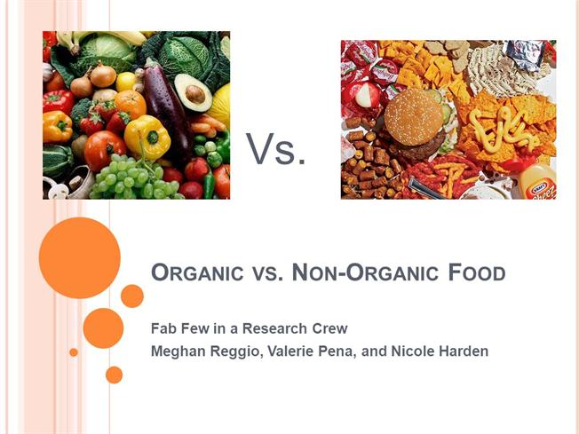 Organic food is it really better essay