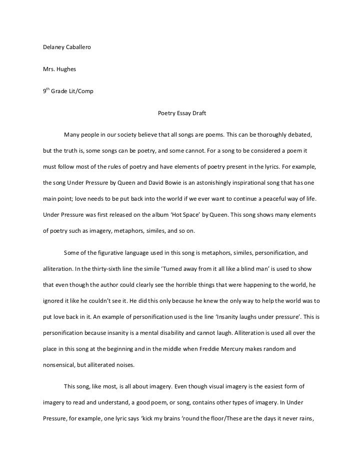 Descriptive essay about a place in nature