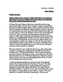 Achebe essay
