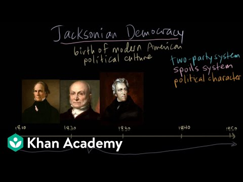Jacksonian Democracy - Definition, Summary & Significance - HISTORY
