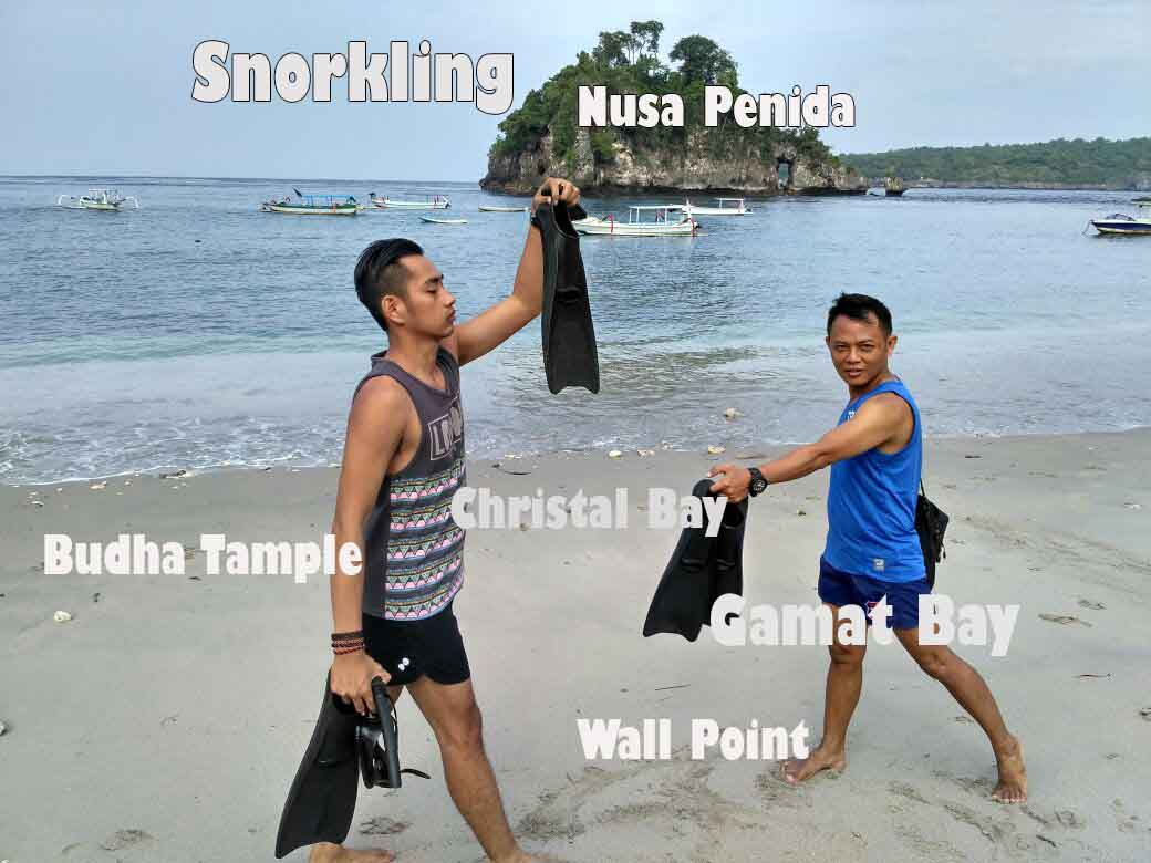 snorkling nusa penida
