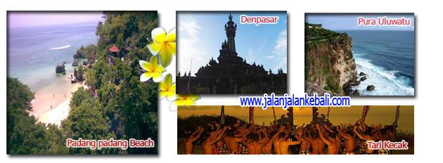 Denpasar,Padang-Padang,Uluwatu dan Tari Kecak Tour