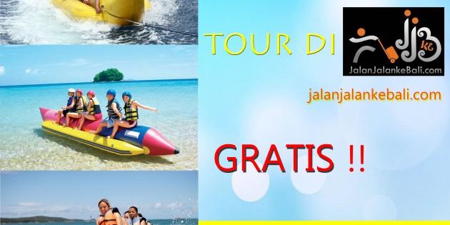 beli paket tour gratis banana boat